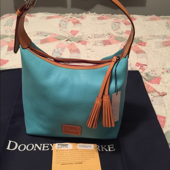 26b70aef6 Dooney & Bourke Bags | Dooney Bourke Pebble Leather Paige Sac | Poshmark